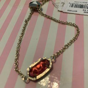 Kendra Scott Elaina Berry Pink Illusion Bracelet